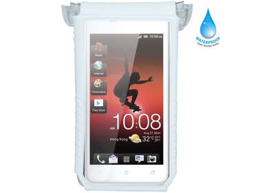"""Nepromokavý obal Topeak SmartPhone DryBag 4"""" - bílá"""