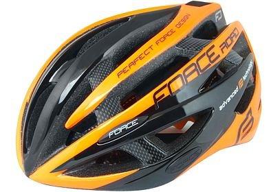 Helma Force ROAD, černo oranžová