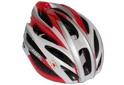 Helma Sting ST-804, bílo/červená