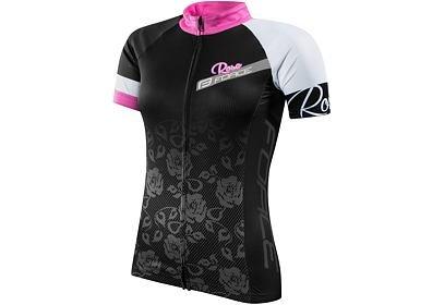 Dres Force ROSE dámský kr. rukáv, černo-růžový