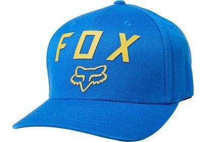 Kšiltovka FOX Number 2 Flexfit HAT Royal Blue LFS20S