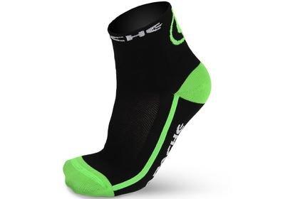 Ponožky Apache - černo / zelené