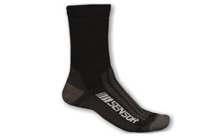 Ponožky Sensor Merino Treking, černá