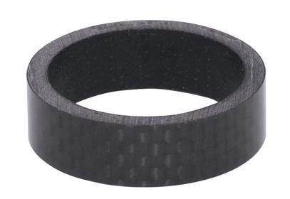 """Kroužek řízení carbon 1 1/8"""", 28,6mm - bez loga"""