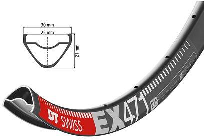"27,5"" Enduro ráfek DT Swiss EX 471, 584x25"