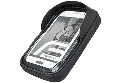 Obal na mobil na řídítka FORCE TOUCH phone, černá