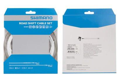 Brzdový set Shimano DURA-ACE, bowdeny + lanka