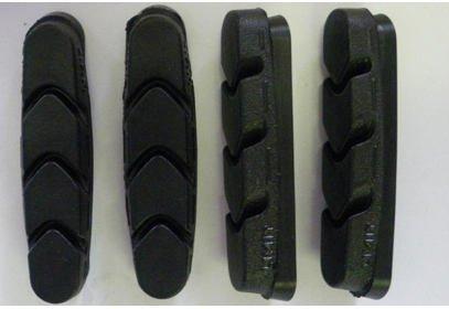Náhradní brzdové špalky Campagnolo, BR-RE600, 4 ks