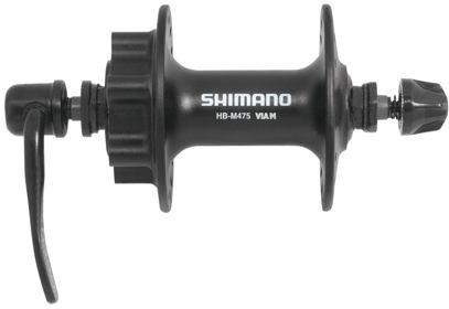 Přední náboj Shimano HB-M475, černý