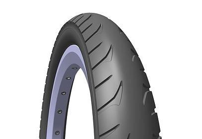 Plášť na kočárek - RUBENA 10 x 1,75 x 2, V63 GOLF, černý