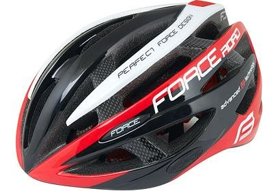 Helma Force ROAD, černo červeno bílá
