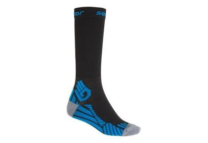 Ponožky Sensor Compress, černá