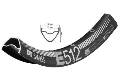 "27,5"" Enduro ráfek DT Swiss E 512, 584x25"