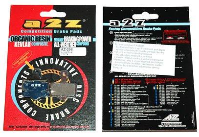 Brzdové destičky A2Z AZ-296 Avid Elixir, Level