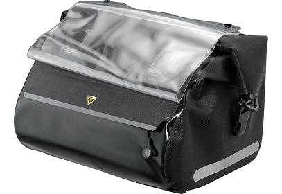 Brašna na řidítka Topeak DRY BAG, černá