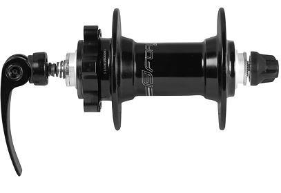 Přední náboj Force Basic - 6 děr, rychloupínák, černý