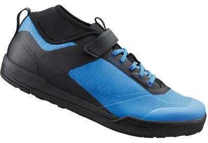 Tretry Shimano SH-AM702MB, SPD, modrá