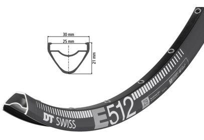 "29"" Enduro ráfek DT Swiss E 512, 622x25"