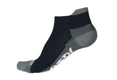 Ponožky Sensor Coolmax Invisible, černá/šedá