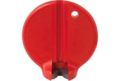 Centrklíč plastový 3,25 mm červený