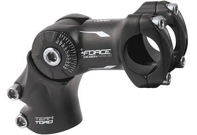 Představec FORCE TORO stavitelný, 25,4 mm, černá
