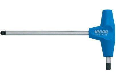 Klíč imbus Unior s rukojetí T s kuličkou