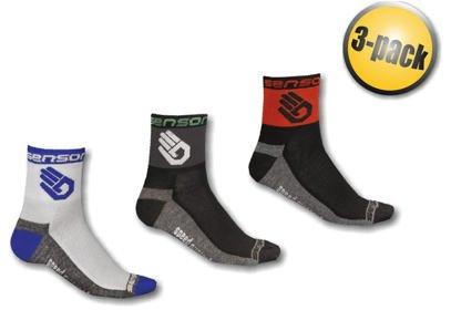 Ponožky Sensor Race Lite RUKA, 3 pack