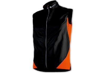Pánská vesta Sensor Parachute ExtraLite, černá/oranžová