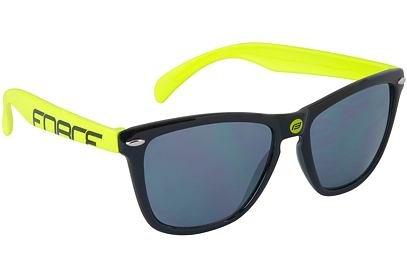 Brýle FORCE FREE černo-fluo, černá laser skla - 91031