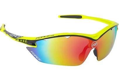 Brýle FORCE RON fluo, černá laser skla - 91013