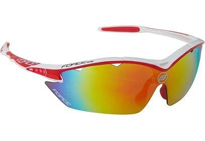 Brýle FORCE RON bílo červená, multilaser skla - 91011