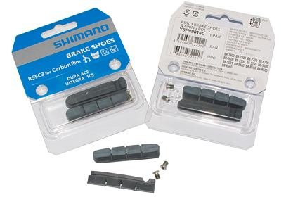 Náhradní špalky Shimano DURA-ACE, R55C3, pro carbon ráfky