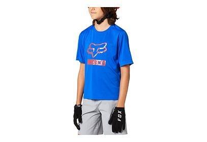 Dětský dres Fox Youth Ranger - krátký rukáv modrá