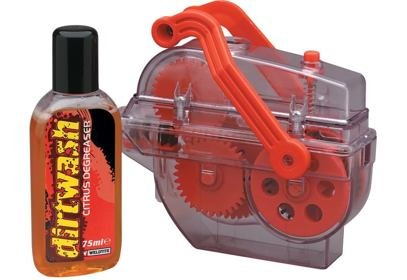 Čistič řetězu Dirtwash + odmašťovač Dirtwash Citrus 75 ml