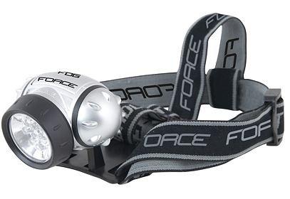 Svítilna čelová FORCE FOG, 7 LED diod