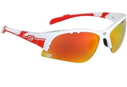 Brýle Force ULTRA bílé + červená skla - 90951