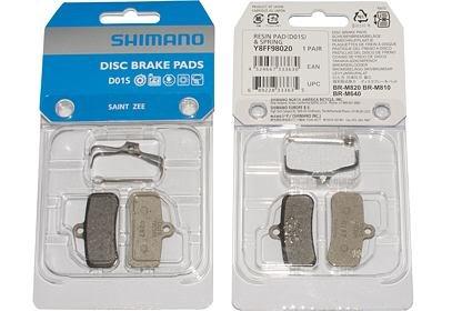 Brzdové destičky Shimano Saint, BR-M810,820,640 - polymer