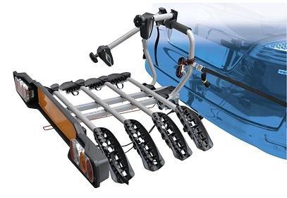 Nosič Peruzzo SIENA na tažné zařízení pro 4 kola - naklápěcí