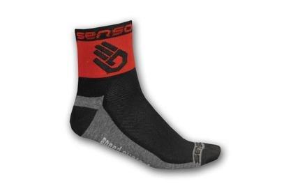 Ponožky Sensor Race Lite Ruka, červená