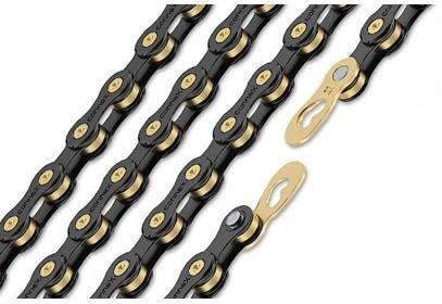 Řetěz CONNEX 11sB pro 11-kolo, černo-zlatý