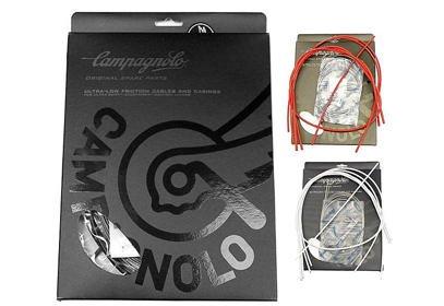 Set Campagnolo bowdeny + lanka, (řazení+brzda)