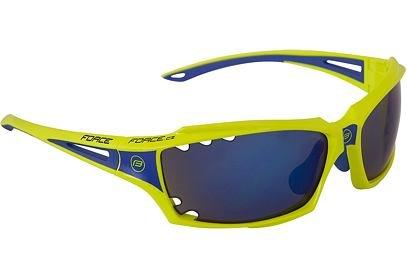 Brýle Force VISION fluo + modrá laser skla - 90973