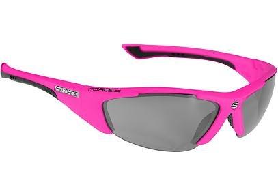 Brýle Force LADY růžové + černá laser skla - 90906