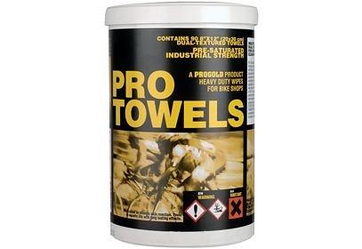ProGold Bike Towels čistící ubrousky, 90 ks