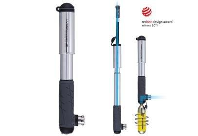 Hustilka Topeak Hybrid Rocket HP, stříbrná