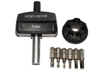 Klíč momentový Ritchey 5Nm - 6 Bitů