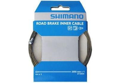 Brzdové lanko Shimano DURA-ACE, SIL-TEC, 1,6 x 2050 mm