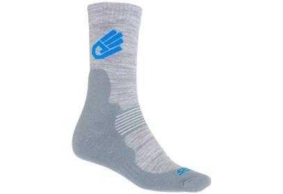 Ponožky Sensor EXPEDITION Merino Wool, šedá/modrá