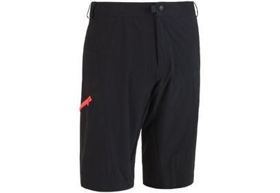 Pánské kalhoty Sensor Helium, černá/červená