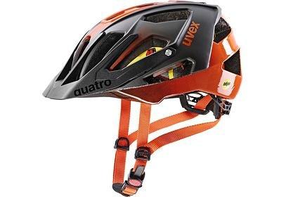 Přilba UVEX Quatro CC Mips, Titan orange